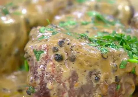 Carne ao Molho com Pimenta