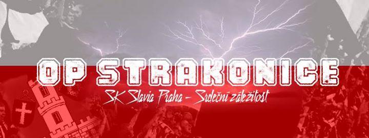 Pozvánka na dubnové setkání OP SK Slavia Praha – odbočka Strakon