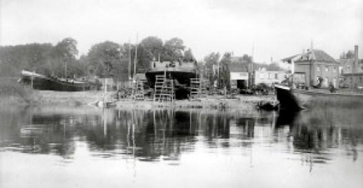 Beeld Boelwerf omstreeks 1910