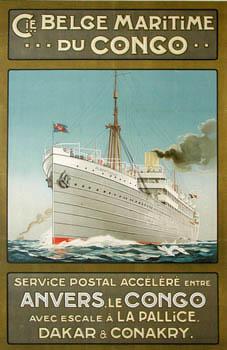 Rederij CMB organiseerde de passagierstransporten naar de Belgische kolonie Cong tot 1986. De schepen werden hoofdzakelijk gebouwd bij Cockerill in Hoboken.