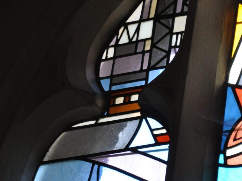 Glasraam over Boelwerf