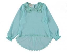 Рубашки, блузки на девочку 1-16 лет