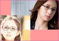 女性カジュアルメガネセット