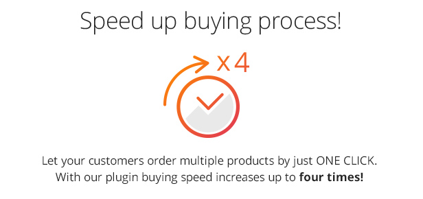 Speed up buying process!
