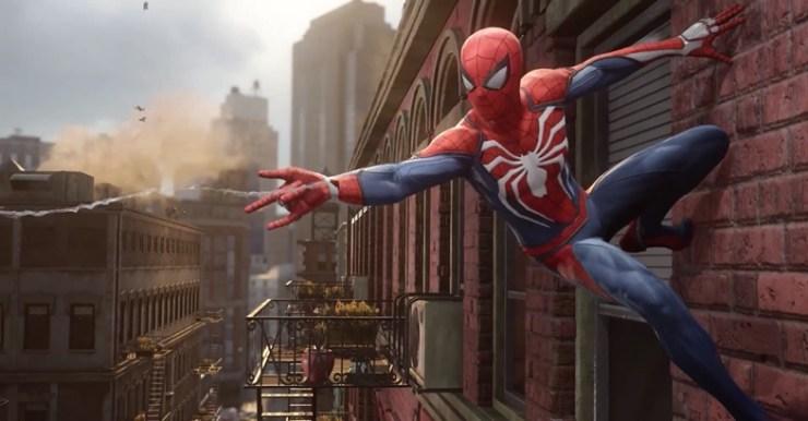 Resultado de imagem para game do homem aranha para ps4