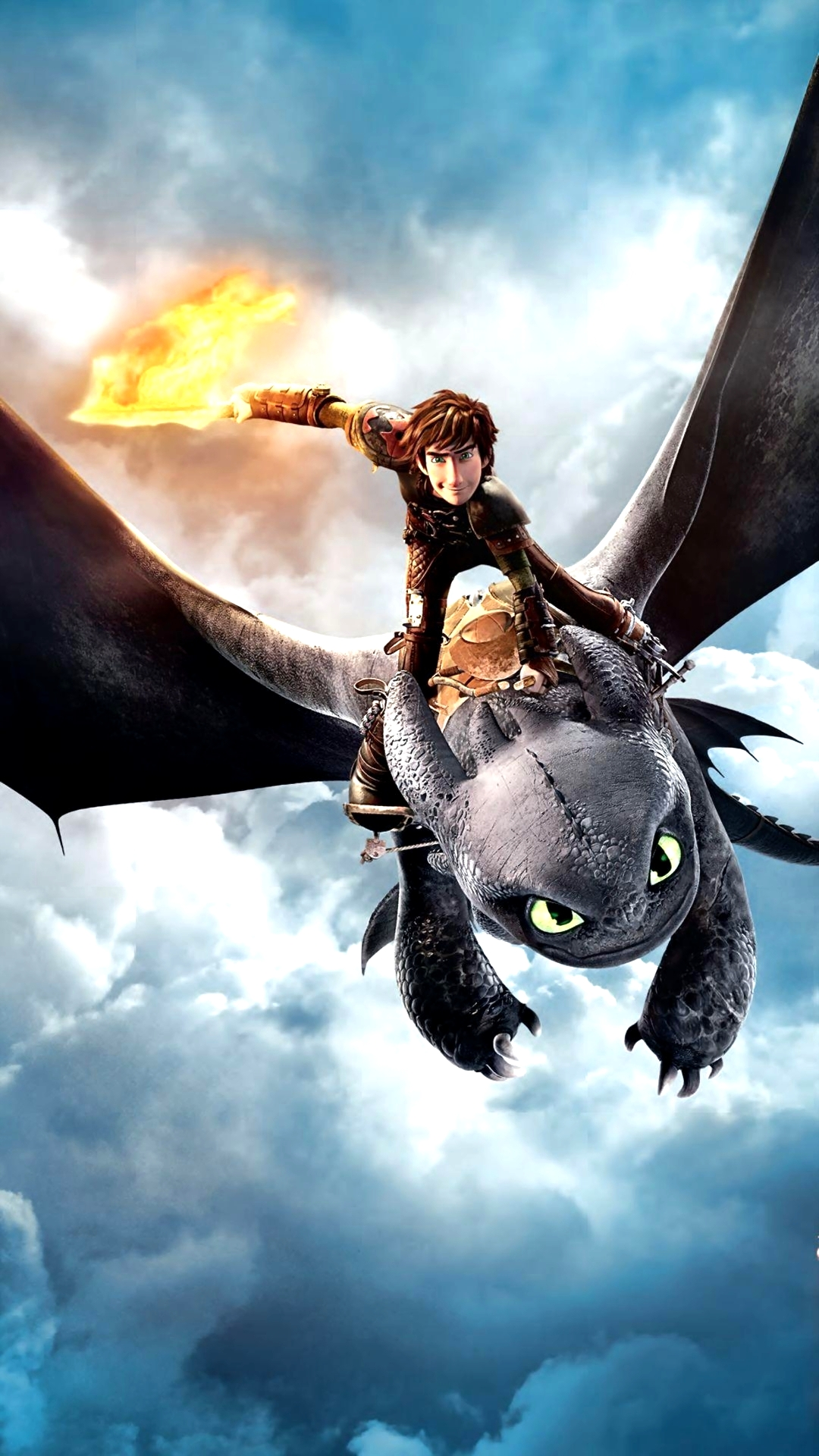 Wallpaper Train Your Dragon Android