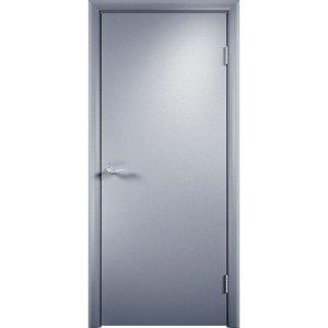 Дверь облицованная пластиком CPL (глухая, серая)