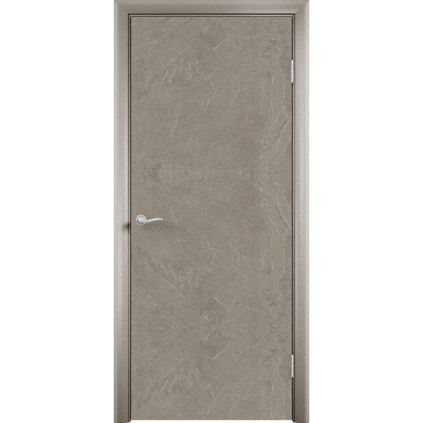 Дверь облицованная пластиком CPL (глухая, мустанг)