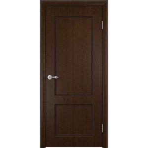 Шпонированная дверь Марсель (глухая, венге)