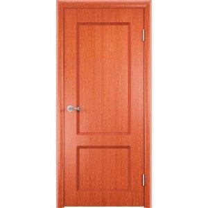 Шпонированная дверь Марсель (глухая, вишня)
