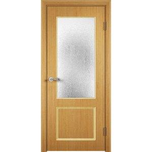Шпонированная дверь Марсель (со стеклом, дуб)