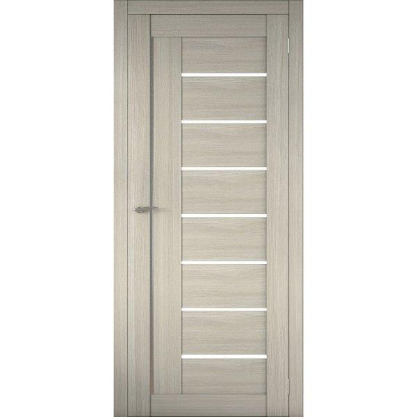 Межкомнатная царговая дверь Д-01 (со стеклом, неаполь)