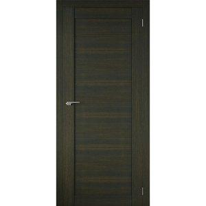 Межкомнатная царговая дверь Р-01 (глухая, венге)