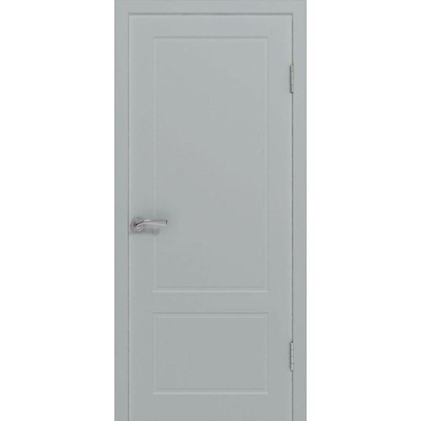 Крашеная дверь Марсель (глухая, RAL 7040)