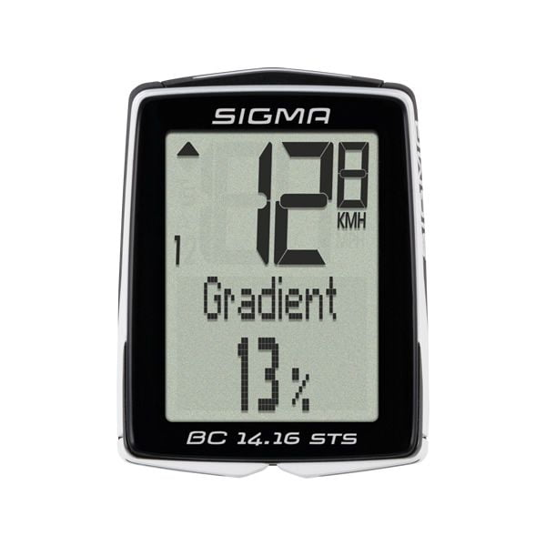 - Brezžični kolesarski števec Sigma BC 14.16 ALTI CAD STS - OPTIBIKE