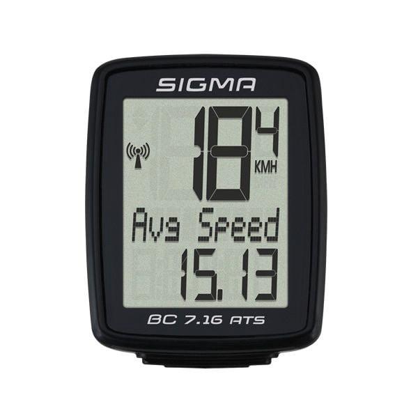 - Brezžični kolesarski števec Sigma BC 7.16 ATS - OPTIBIKE