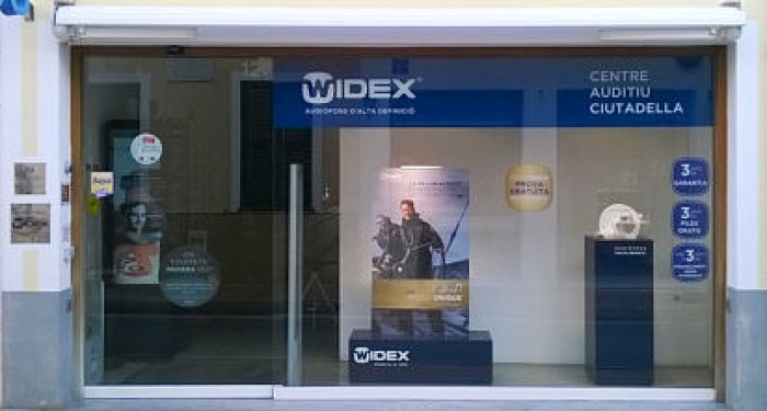 Centro auditivo Ciutadella Widex