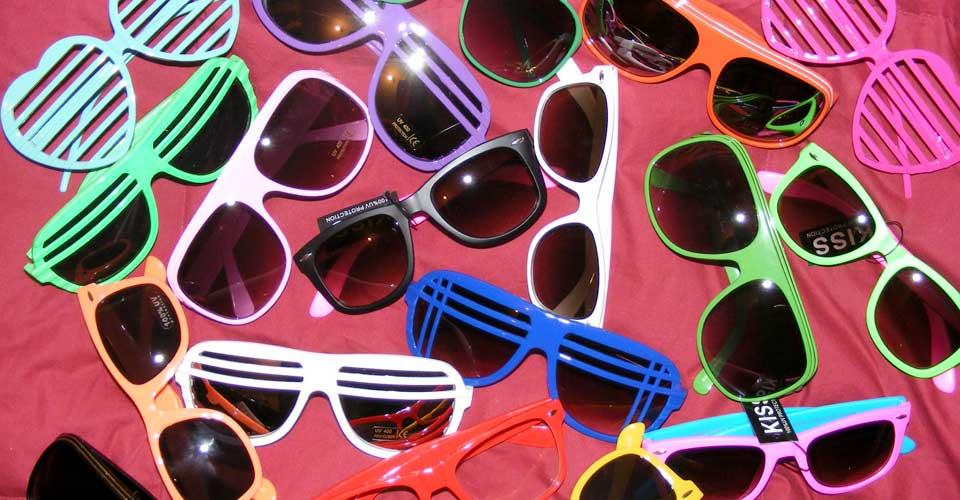 La compra de gafas de sol en bazares puede tener consecuencias…