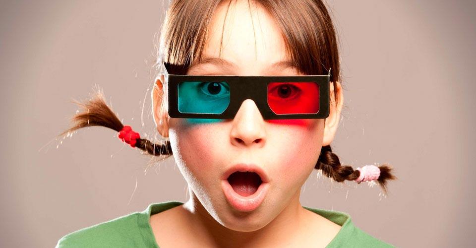 El consumo del 3D en películas y videoconsolas