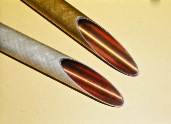 Two samples of Long-haul Microwave Waveguide