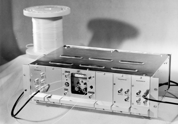 34 MBit/s fibre transmission system