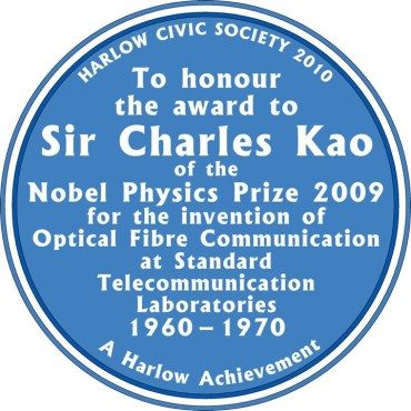 Image of Blue Plaque in Harlow