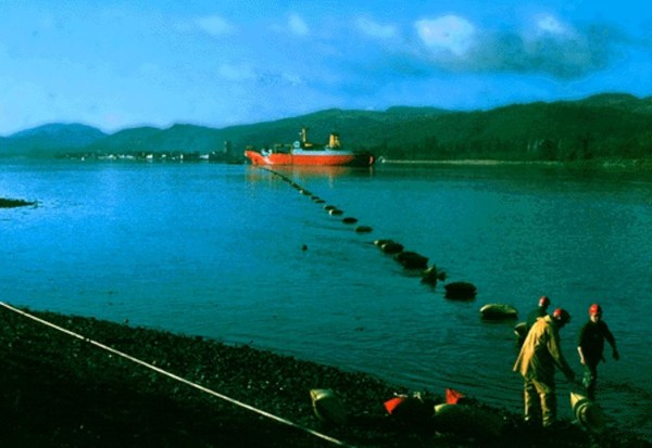 Deep water cable trial in LochFyne in Scotland