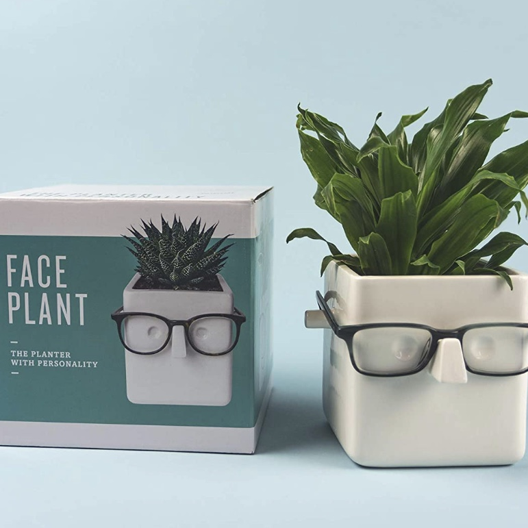 glasses face planter