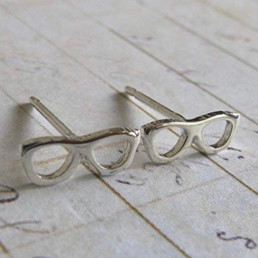 eyeglasses earrings