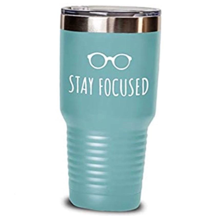glasses thermal tumbler