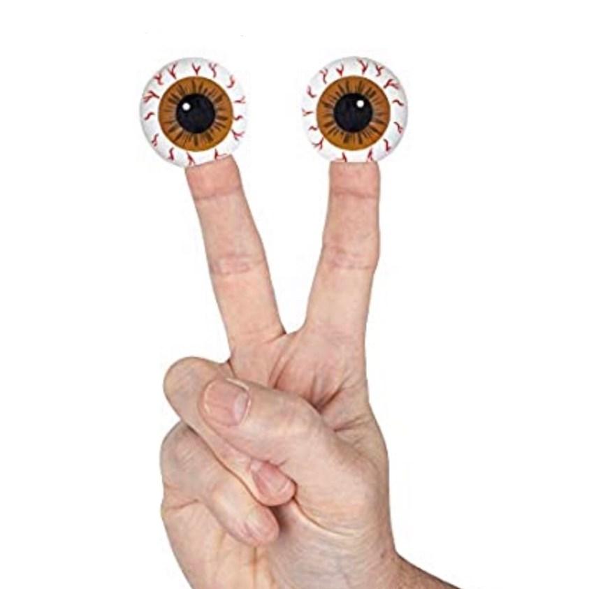 eye finger puppets
