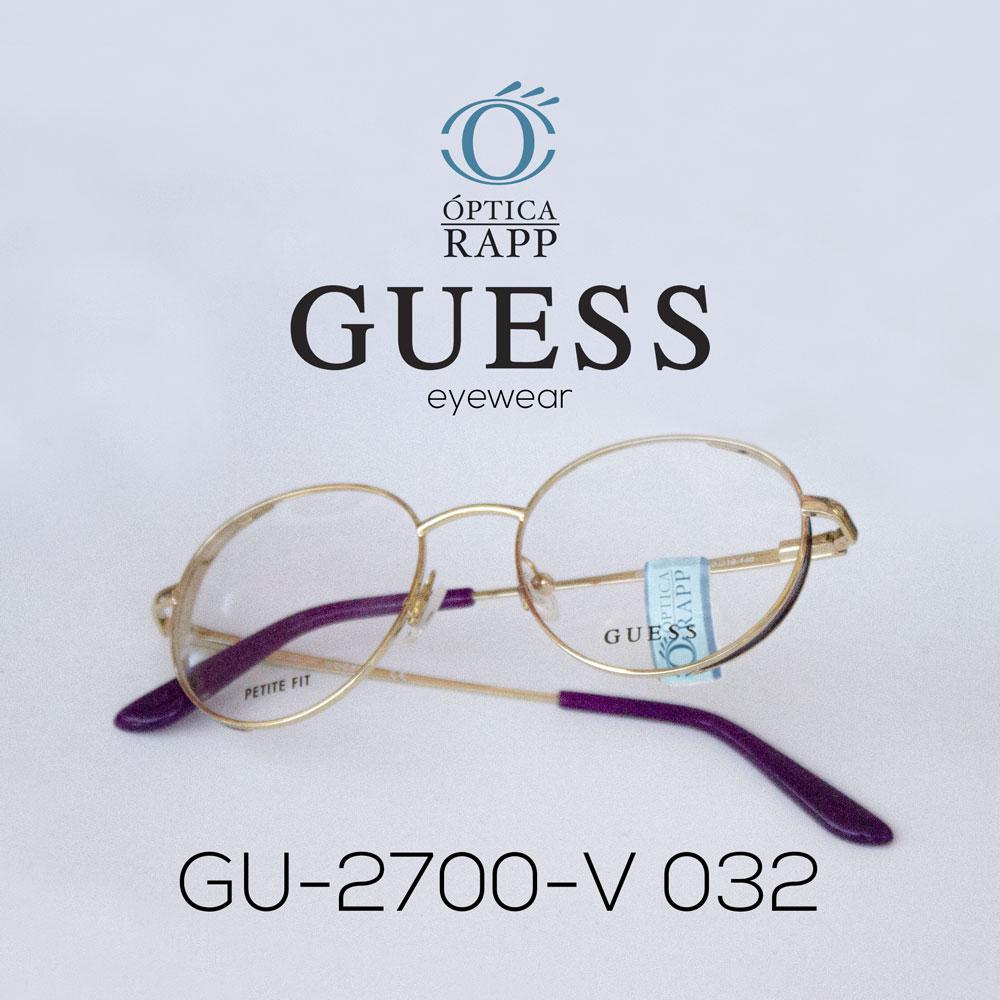 Guess ofrece una colección de gafas brillantes y glamorosas, que completa el aspecto de aquellos que desean vivir el espíritu Guess, con los reconocibles detalles de la marca, uno de los más importantes en la escena de la moda internacional.