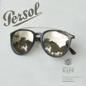 Gafas de sol masculinas Persol, hechas a mano, Optica Rapp, La Laguna, Tenerife