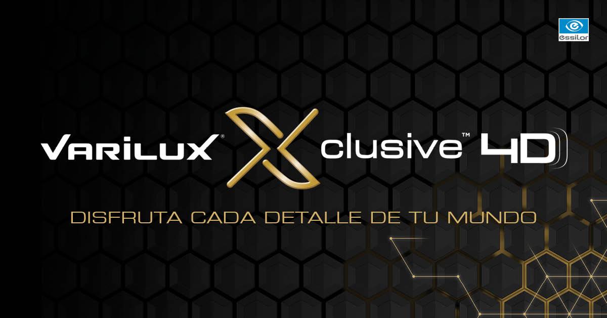 Progresivos Varilux Xclusive 4D