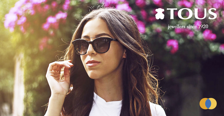 óculos de sol da marca Tous