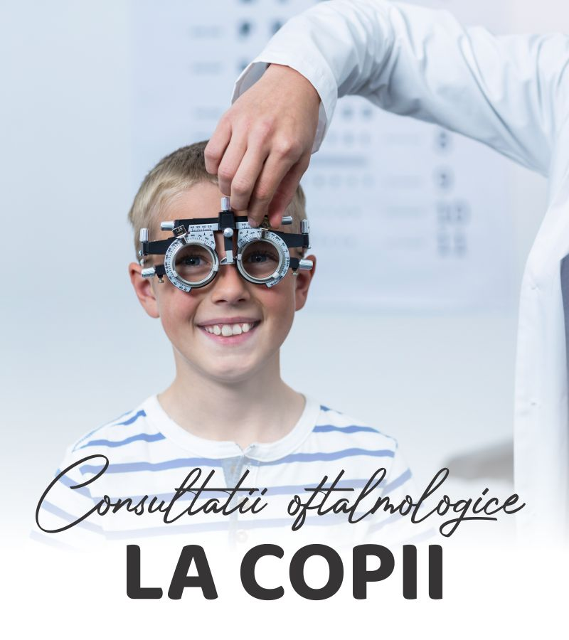 opticlinic consultatii oftalmologice la copii