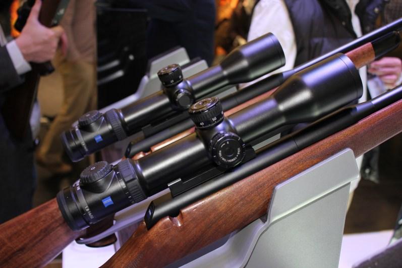 Zeiss Victory V8 Rifle scopes on IWA 2014