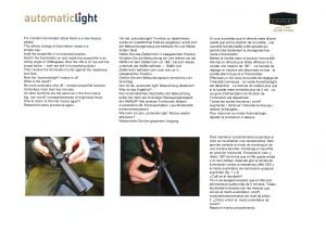 Kahles AutomaticLight instruction manual