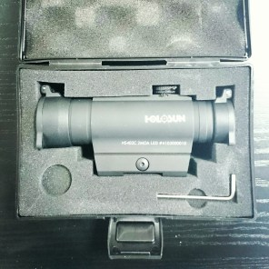Holosun HS402D red dot in the box