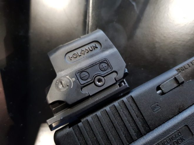 Holosun HE509T Titanium Red Dot Sight