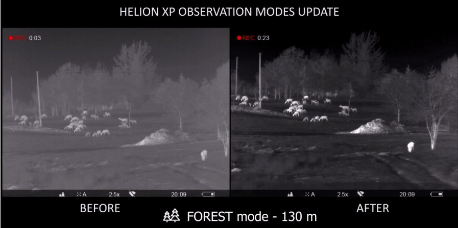 Helion XP Observation Modes Update (source: Pulsar)