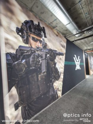 Vortex's booth at Shot Show 2020