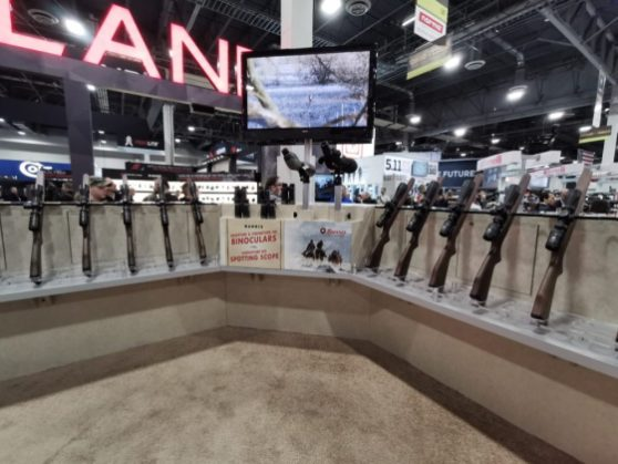Burris' booth at Shot Show 2020