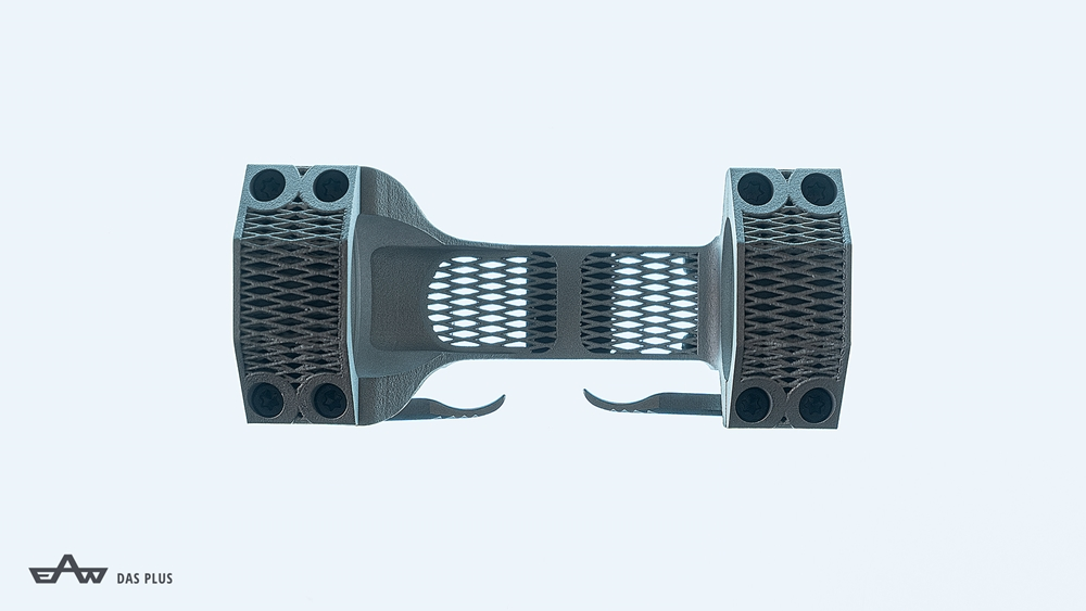 EAW 3D-Printed Aluminum Mounts (Source: EAW)