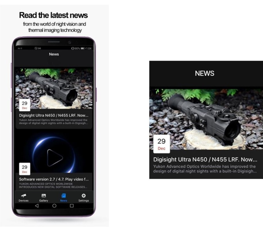 Pulsar Stream Vision 2 - Newsfeed feature (source: Pulsar)