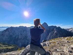 Observing the peak of Triglav