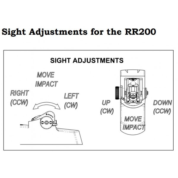 Tech Sights Aperture Sight for Pre-2005 Ruger Mini 14 and