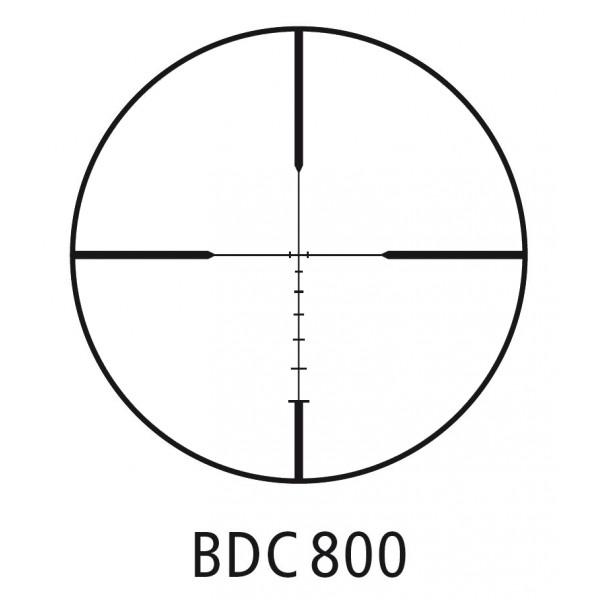 Minox ZA5 HD 3-15x42 SF Rifle Scope BDC 800 Reticle On