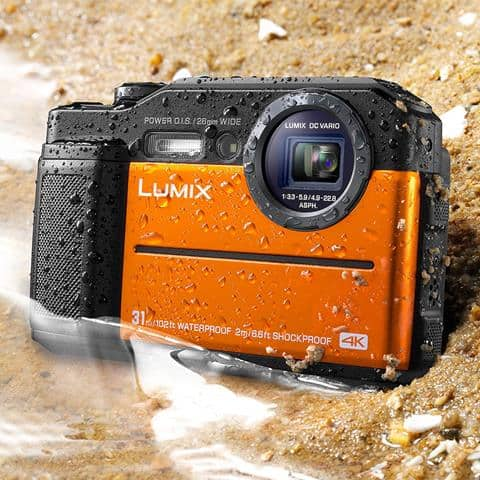 Panasonic DC TS7D Lumix TS7 Waterproof Tough Camera Review