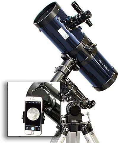 AstroVenture 4.5 Inch Reflector Telescope